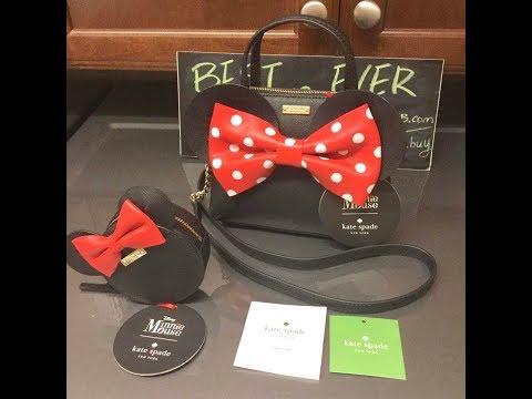 Kate Spade ☜UNBOXING☞ Minnie Mouse Crossbody Bag PXRU6512