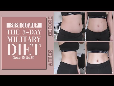 i-tried-the-3-day-military-diet-and-here's-what-happened-|-glow-up-for-2020-episode-2
