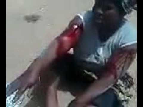 Woman Caught With Gun In Food Sack thumbnail