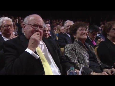 Verne Lundquist - Sports Lifetime Achievement Award Recipient