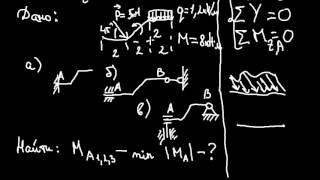 Теоретическая механика. Задание С1 (часть 2) из сборника Яблонского