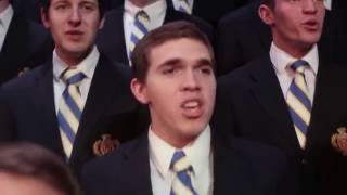 Nearer My God to Thee  BYU Vocal Point ft  BYU Mens Chorus