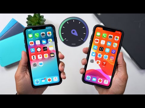 iOS 13 vs iOS 12.4! Shocking Results!