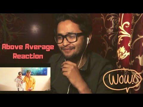 Indian React To ABOVE AVERAGE - Jay Author x Zac Rai