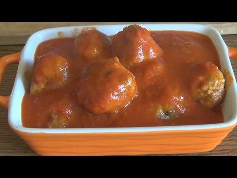 Тефтели в томатном соусе. Как приготовить тефтели #domavkusno