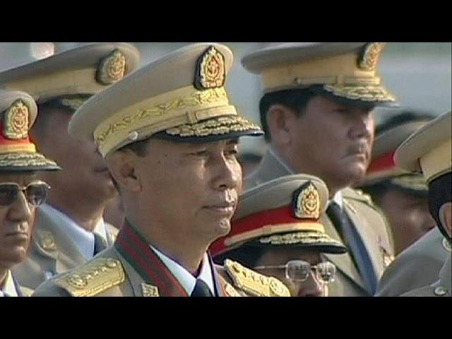 Ruling party chief ousted in Myanmar power struggle #1
