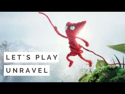 Unravel Gameplay Review / Walkthrough [No Commentary]
