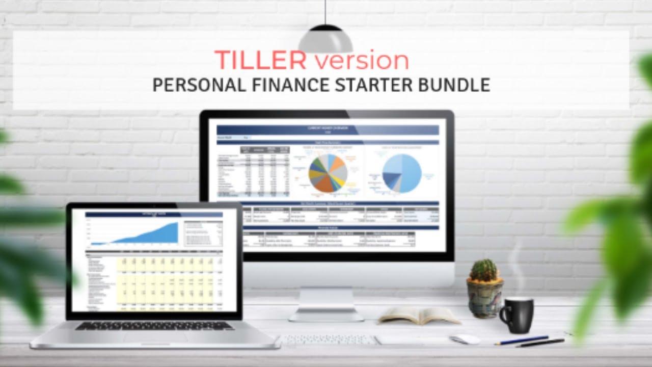 Tiller Version: Personal Finance Spreadsheet Bundle