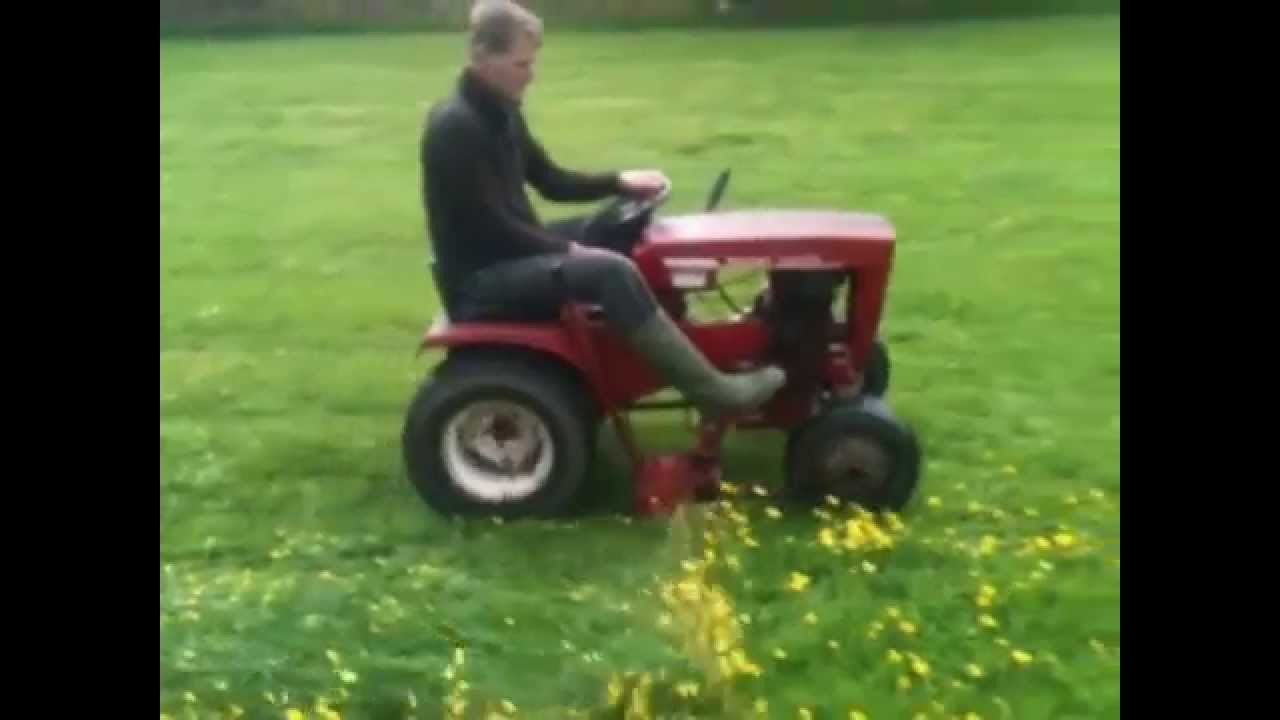 Wheel horse commando 7 sms 425 sickle bar mower youtube - Sickle bar mower for garden tractor ...