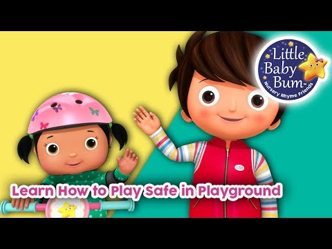 Learn How To Play Safe in Playground  Learn With LBB  Little Baby Bum
