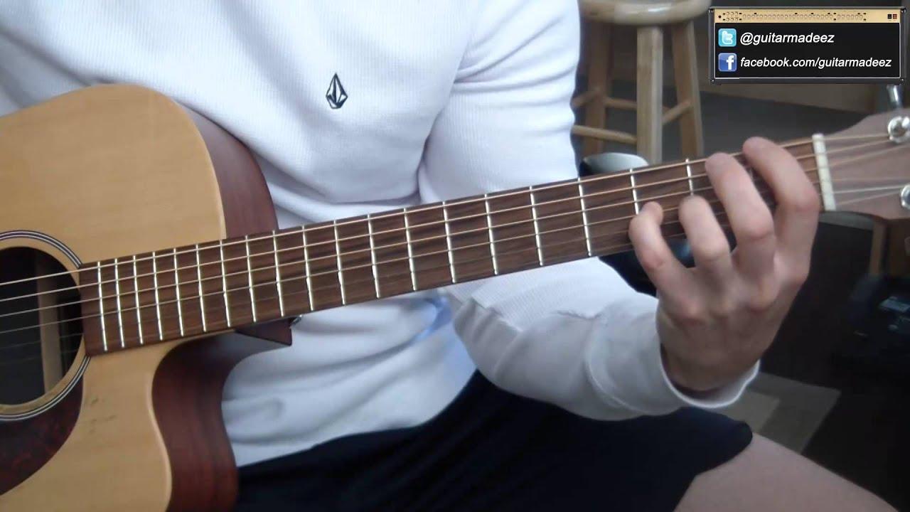 The Script Breakeven Guitar Tutorial Learn It In No Time