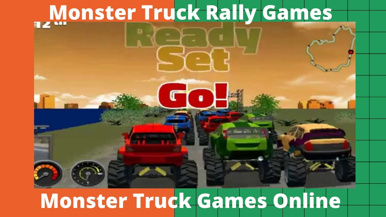 Monster Truck Rally Games Full Money Monster Truck Games