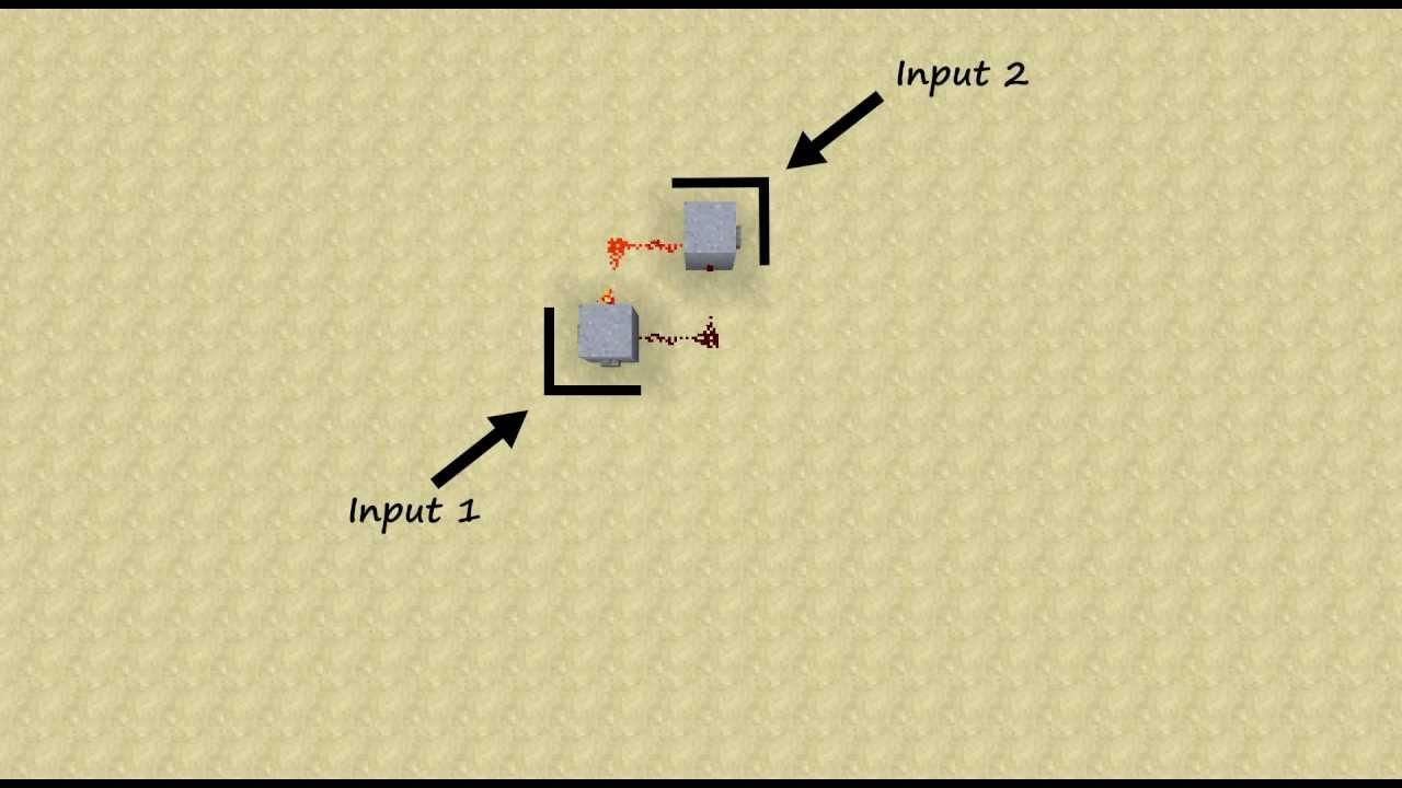 Nor Gate Circuit Minecraft Wiring Diagram Master Blogs Nand Geoff S Rs Latch Tutorial Youtube Rh Com Castle