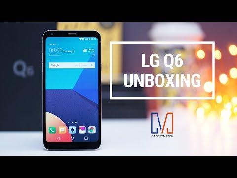 LG Q6 Unboxing: Like A G6!