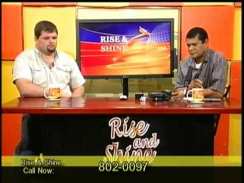 Rise & Shine Morning Show  April 23rd, 2014 GUEST: Ronnie Plett