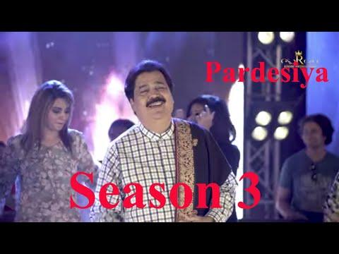 Pardesiya Shafaullah Khan Rokhri Official Video Folk Studio Seasion 3