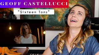 """Download Geoff Castellucci """"Sixteen Tons"""" REACTION & ANALYSIS by Vocal Coach / Opera Singer"""