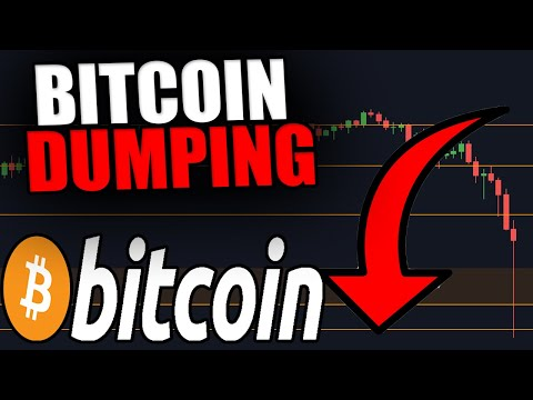 BITCOIN DUMPING NOW! THIS IS WHAT YOU NEED TO KNOW