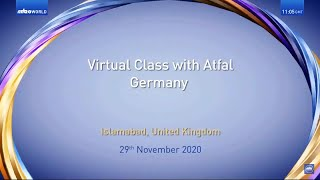 Virtual Class | Germany | Atfal | Malayalam