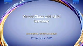 Virtual Class | Germany | Atfal | Malayalam