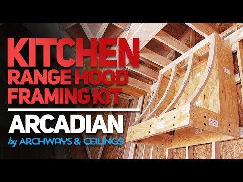Kitchen Range Hood Framing Kit | Arcadian