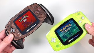 Unboxing Fully Modified Gameboy Advance