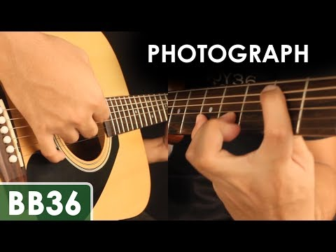 Photograph - Ed Sheeran Guitar Tutorial