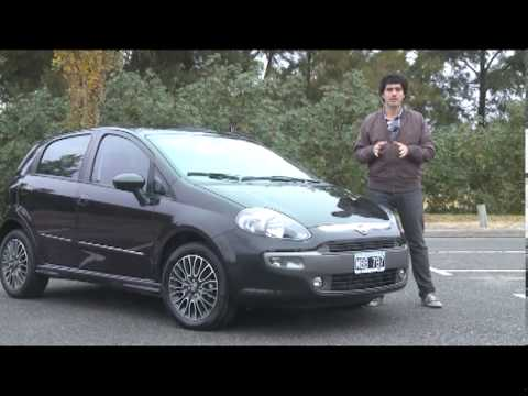 fiat punto sporting test mart n sac n youtube. Black Bedroom Furniture Sets. Home Design Ideas