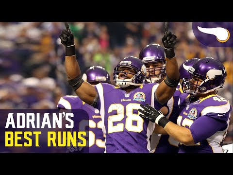 Adrian Peterson's Best Run Against Each Team