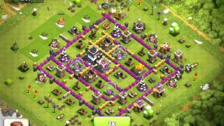 Clash of Clans, worst raid EVER! 3 Dragons, PEKKA, 2 spells!
