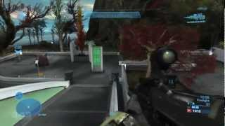 Halo Reach Firefight Beach Head Gameplay in HD