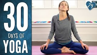Video Day 24 - Gentle Yummy Yoga - 30 Days of Yoga download MP3, 3GP, MP4, WEBM, AVI, FLV Maret 2018