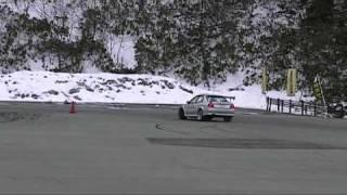 2009/3/29秋田県ジムカーナシリーズ第1戦6クラス第2ヒート ドライバー:...