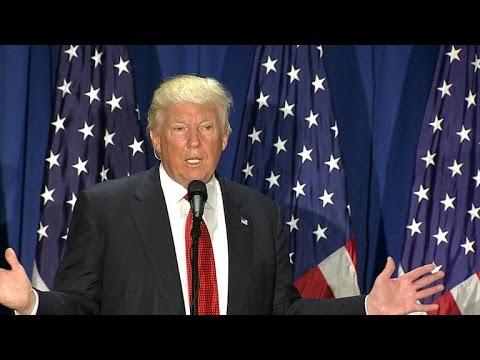 Donald Trump slams Clinton's foreign policies during education speech