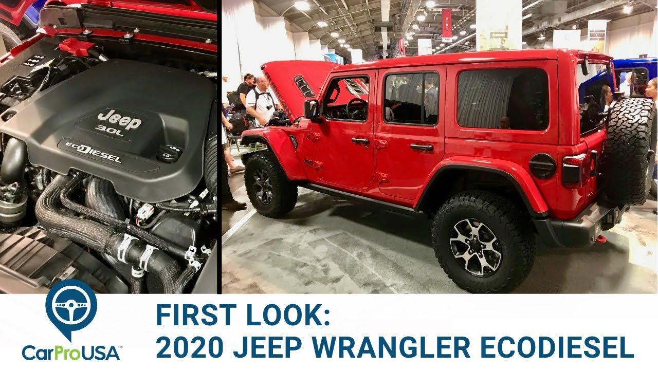 Ecodiesel >> First Look 2020 Jeep Wrangler Ecodiesel