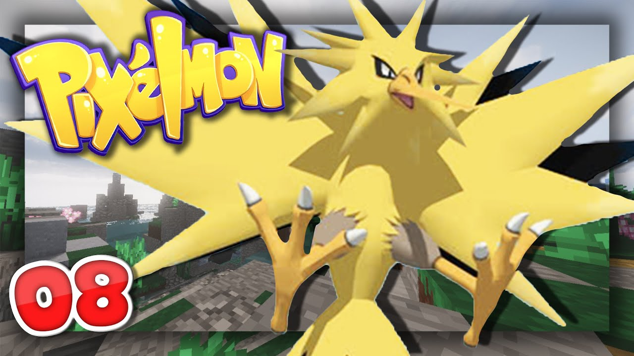 How to Catch the Legendary ZAPDOS!   Pixelmon: Pokecentral   Episode 8