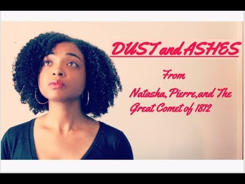 Dust and Ashes-Natahsha, Pierre, and the Great Comet of 1812 (Cover)