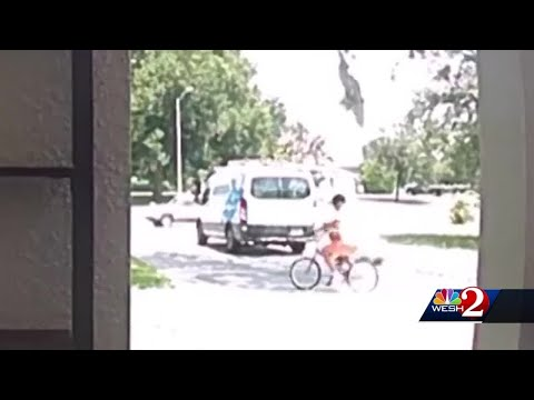 Katie Sommers - ON CAMERA: Delivery Driver Drops Off Package, Takes Florida Girl's Bike