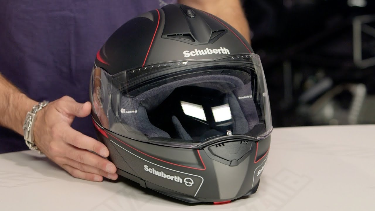 schuberth c3 pro dark classic helmet review at revzilla. Black Bedroom Furniture Sets. Home Design Ideas