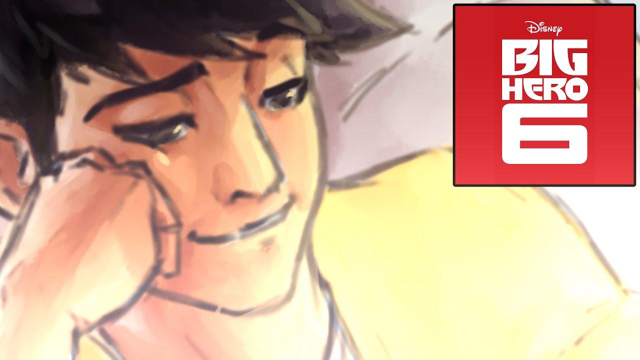 Big Hero 6 Speedpaint: Tadashi Hamada [SPOILER]