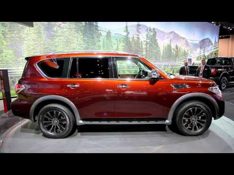 After A Brief Hiatus Nissan S Full Size Armada Suv Is Making Return The Latest Generation Was Unveiled Today At 2016 Chicago Auto Show