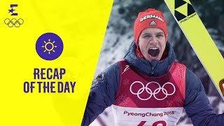 Wellinger und Dahlmeier holen Gold | Tag eins | Olympische Winterspiele 2018 | Eurosport