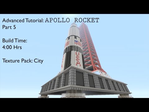 how to make a rocket to the moon in minecraft