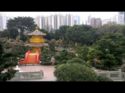 Stadtwanderung  Hongkong - Chi Lin  Nunnery und Nan  Lian Garden