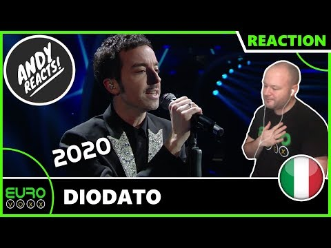 ITALY EUROVISION 2020 REACTION: Diodato - Fai Rumore (Sanremo 2020 Winner Reaction) | ANDY REACTS!
