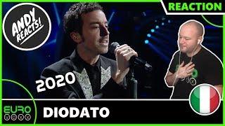 ITALY EUROVISION 2020 REACTION: Diodato - Fai Rumore (Sanremo 2020 Winner Reaction)