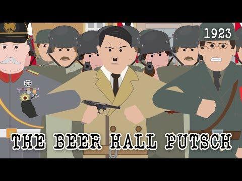 The Beer Hall Putsch (1923)