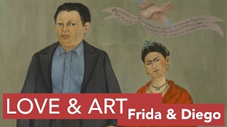 Frida Kahlo and Diego Rivera | Art, Love, & Collaboration Pt. 2 | LittleArtTalks