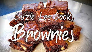Suzie's BROWNIES (LIVE Cookalong Recipe)