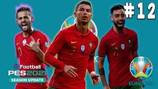 Indulunk az EB kupáért! I Euro 2020 I Pes 2021 #12